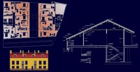 Edificio de viviendas, garaje y local comercial en Sevilla laNueva