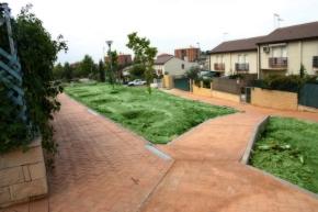 Urbanización de zonas comunes en RivasVaciamadrid